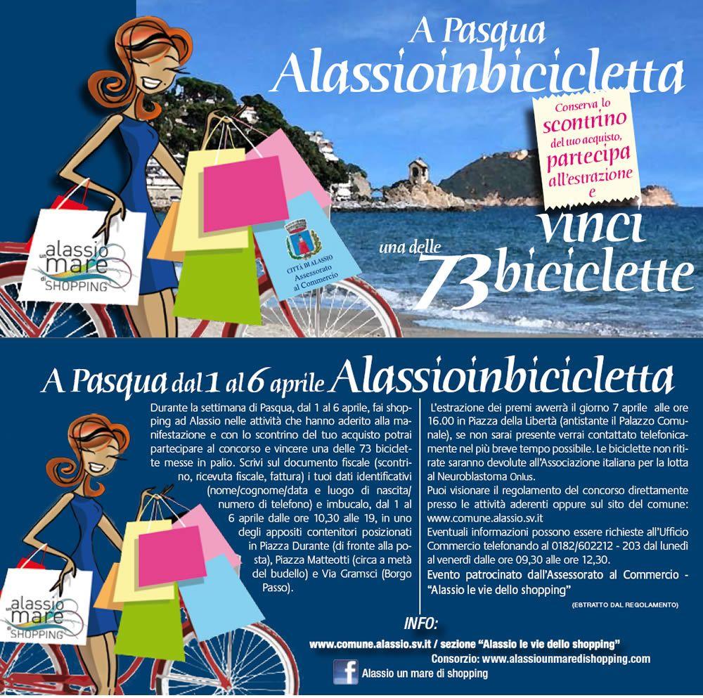 Concorso Alassio in Bicicletta per le Vie dello Shopping