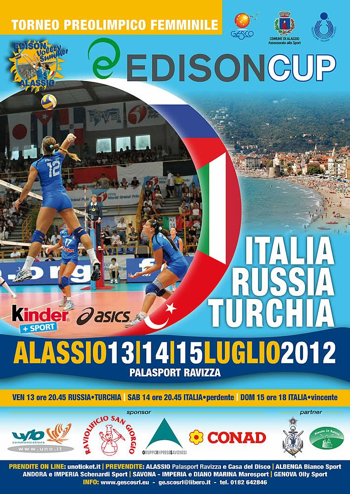 Edison Volley Cup - Alassio - Summer 2012