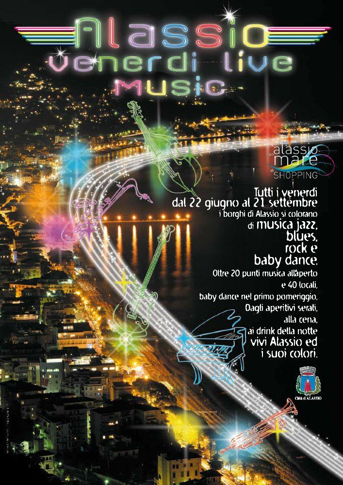 Alassio Venerdì Music Live