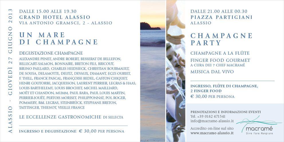 Invito Un mare di champagne2