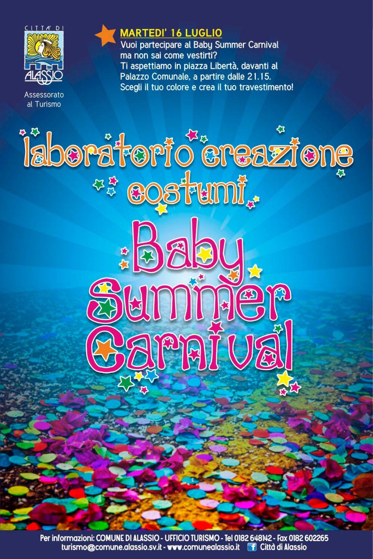 Alassio BabySummer 2013 - volantino retro
