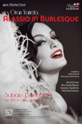 alassio - burlesque - locandina