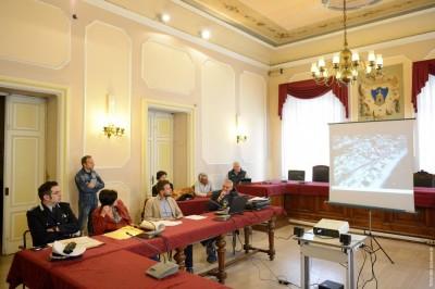 La conferenza stampa di presentazione in Comune