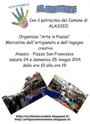 """Locandina """"Arte in piazza"""""""