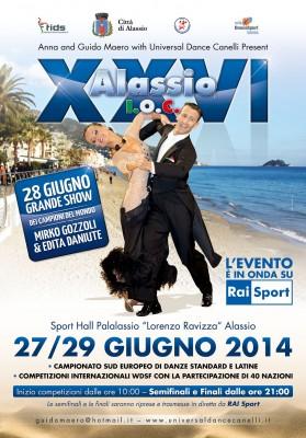 Locandina Open Alassio XXVI