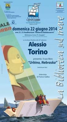 Locandina incontro Alessio Torino
