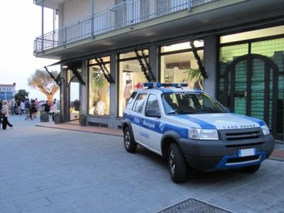 La Polizia municipale impeganta nei controlli nel centro città