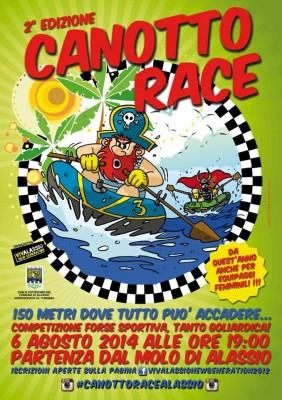 Locandina Canotto Race