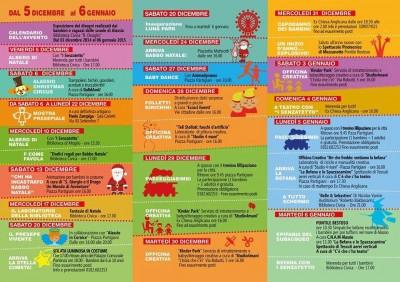 calendario eventi bambini
