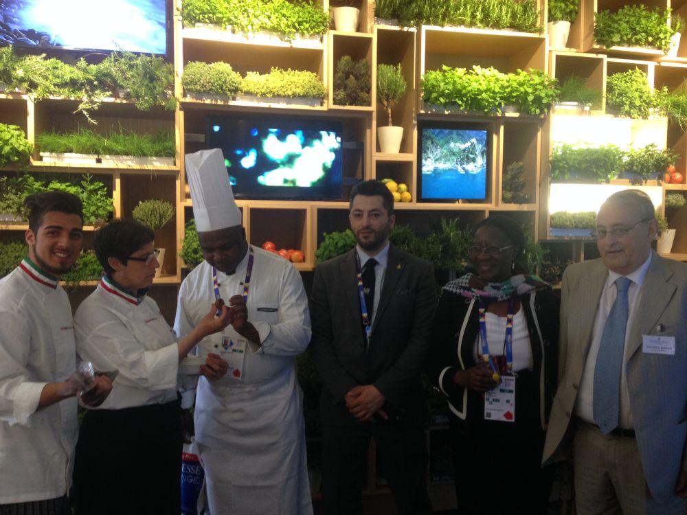 Alassio e Zimbabwe si incontrano in cucina a EXPO 2015