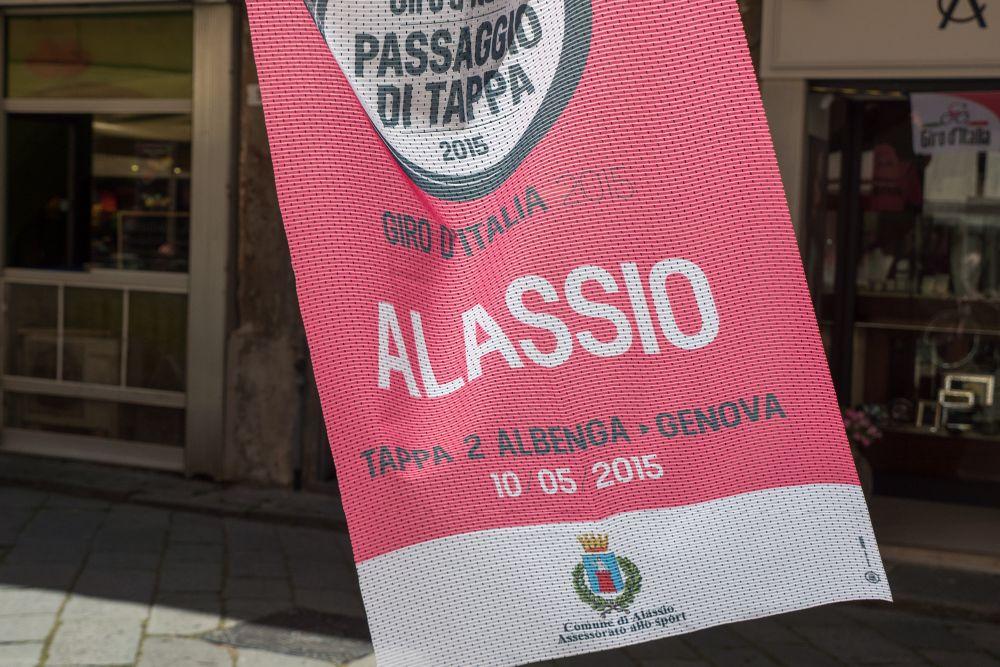 Giro d'Italia 2015, un successo anche per Alassio