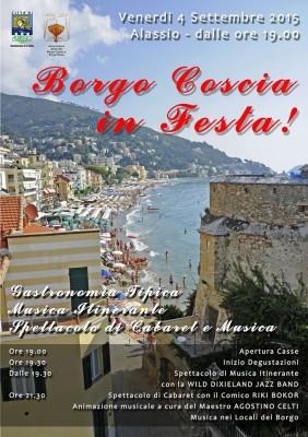 Borgo Coscia in Festa 2015