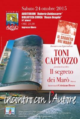 Locandina Toni Capuozzo