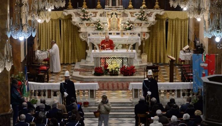 Alassio, le celebrazioni per San Sabastiano, santo patrono della Polizia Municipale