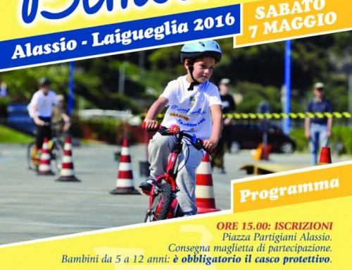 """Alassio e Laigueglia nuovamente protagoniste dello sport a due ruote con """"Bimbimbici"""""""