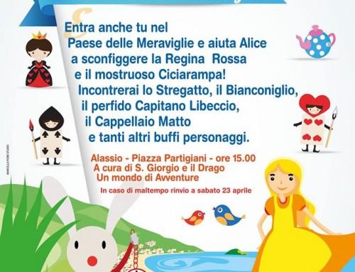 """Grande festa di Pasqua con """"Alice nel Paese delle Meraviglie"""""""