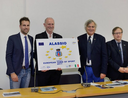 Alassio nominata Città Europea dello Sport per il 2017
