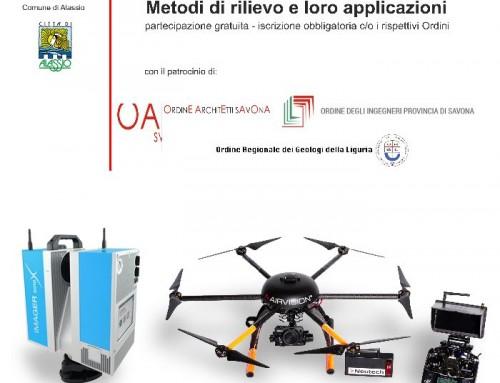 """""""Tecnologia Laser Scanner, metodi di rilievo e loro applicazioni"""", convegno ad Alassio"""