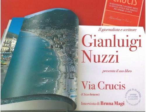 Gianluigi Nuzzi ad Alassio per presentare Via Crucis