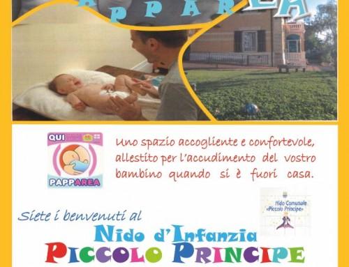 """Al nido d'infanzia arriva la """"Pappa Area"""", un servizio in più per le famiglie"""