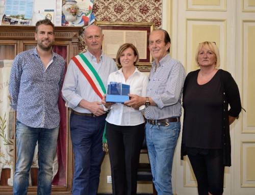 L'Amministrazione premia gli organizzatori degli IOC Alassio Open di danza
