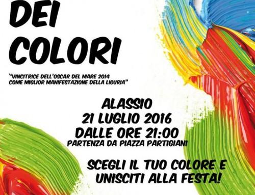 """Tutto pronto per la Festa dei Colori 2016. L'Assessore Rossi: """"Appuntamento irrinunciabile dell'estate di Alassio"""""""