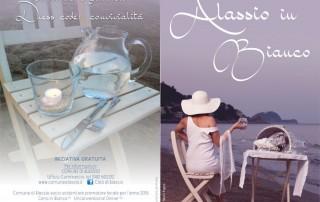 alassio - cena in bianco 2016 - brochure fronte