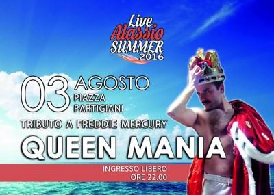 queen 3 agosto
