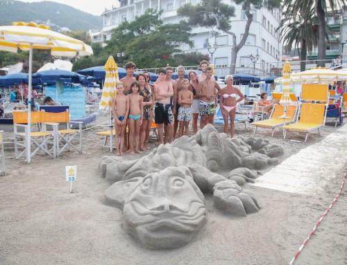 """Castelli di Sabbia, i Bagni Walter vincono la sfida con """"La Storia Infinita"""""""
