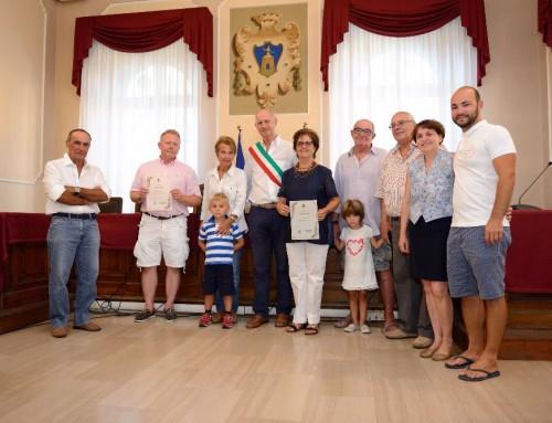Il Sindaco premia la fedeltà dei turisti