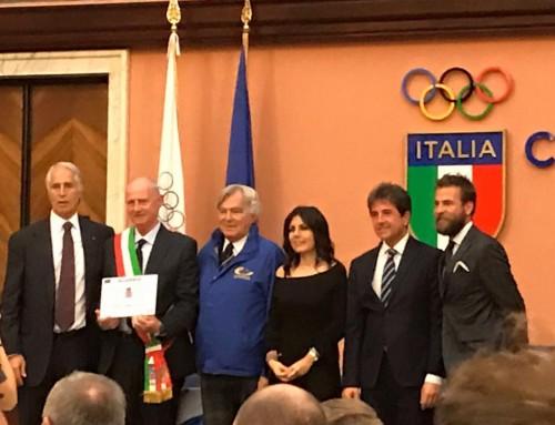 Alassio è European Town of Sport 2017, la premiazione a Roma nella sede del CONI