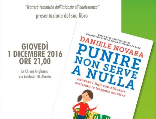 """""""Punire non serve a nulla"""", incontro con il pedagogista Daniele Novara"""