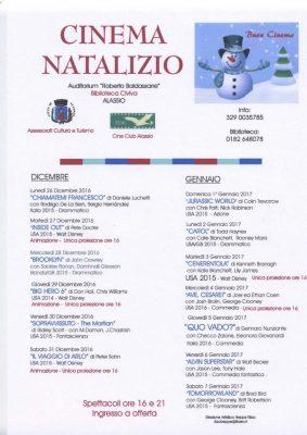 Locandina Cinema Natalizio