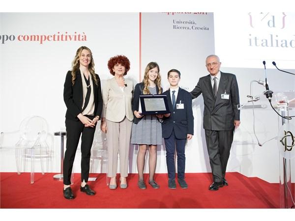 L'Istituto Comprensivo di Alassio premiato a Roma per l'innovazione digitale