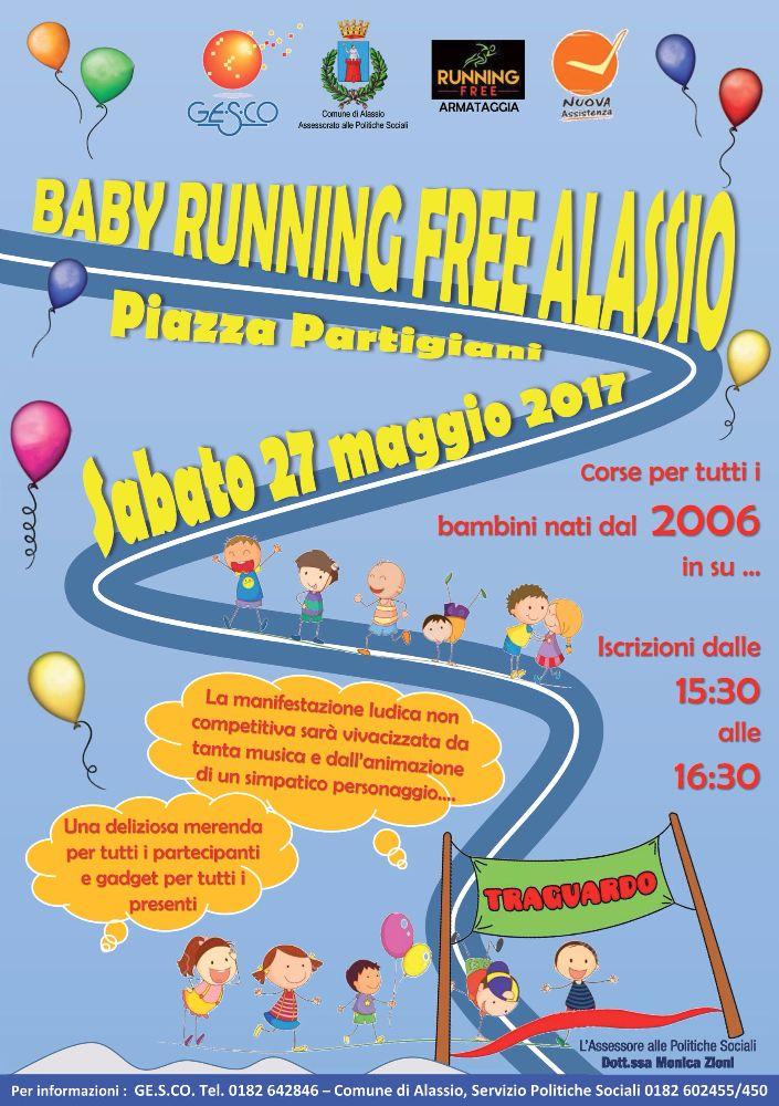 """Sale l'attesa per la prima edizione della """"Baby Running Free"""""""