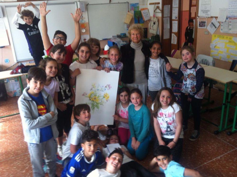Una giornata all'insegna della creatività per gli alunni della IV C della primaria di via Neghelli