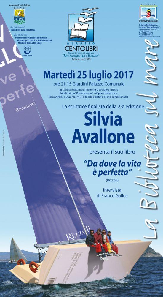 """Alassio 100 Libri, la finalista Silvia Avallone presenta """"Da dove la vita è perfetta"""""""