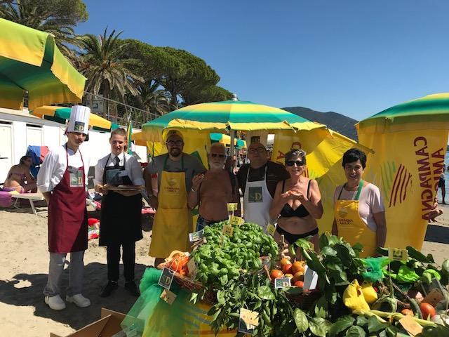 Spiagge Didattiche: Campagna Amica e Comune di Alassio lanciano l'hashtag #ioamoleggere