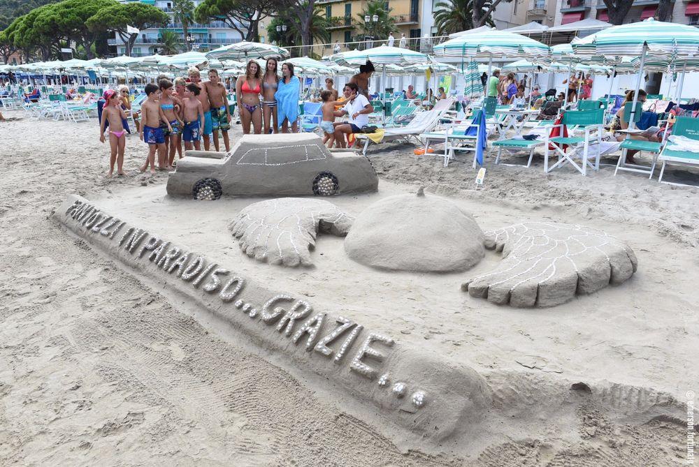 """Castelli di Sabbia 2017: vincono i Bagni Lido con """"Fantozzi in Paradiso"""""""