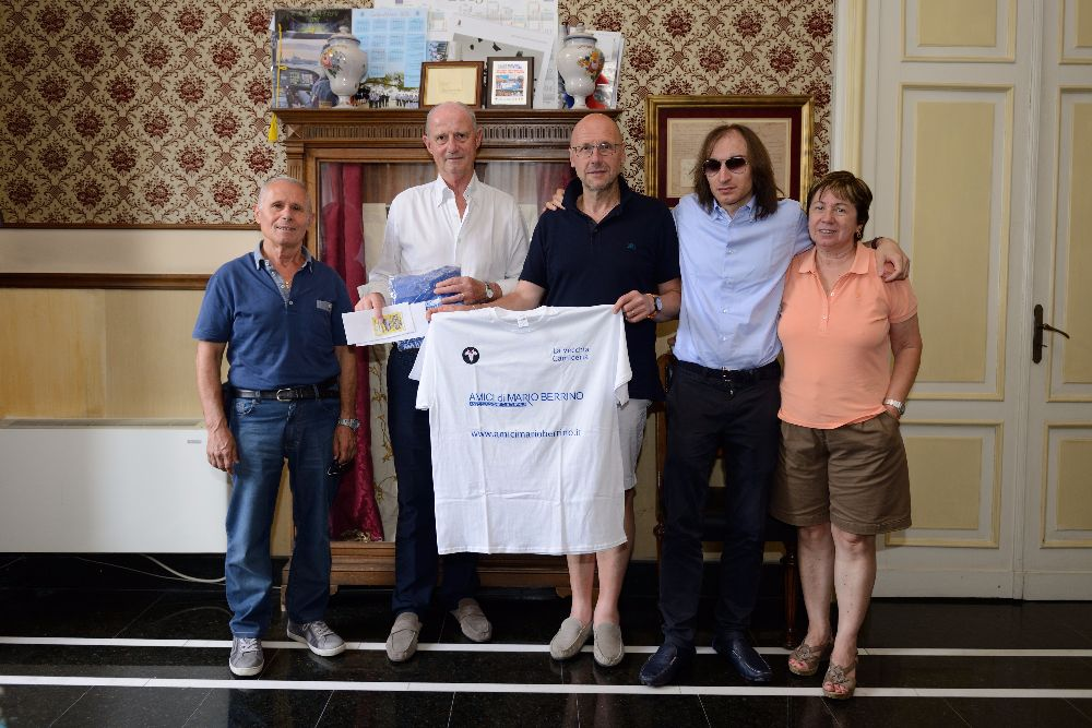 Il Sindaco riceve una delegazione da Ispra (Varese)