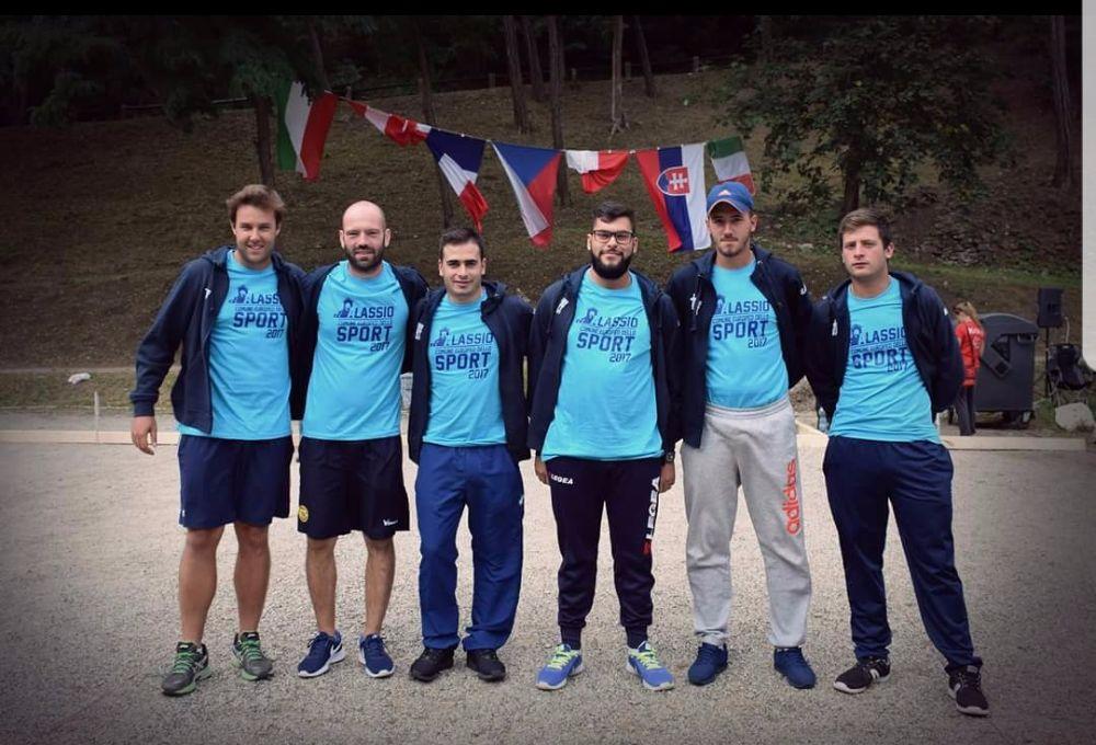 Bocce, gli atleti italiani in Repubblica Ceca con le divise della Città di Alassio