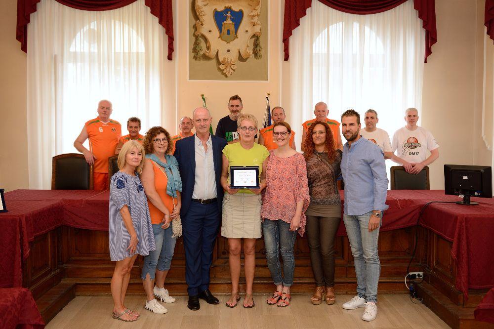 Alassio Cup Over 40 di basket, il Sindaco premia la fedeltà di due squadre internazionali