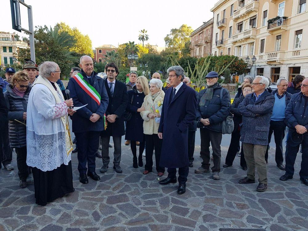 I giardini di piazza Quartino intitolati alla memoria del prof. Tommaso Schivo