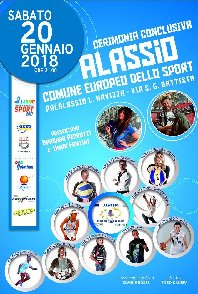"""Una parata di stelle per il gran finale di """"Alassio Comune Europeo dello Sport"""""""