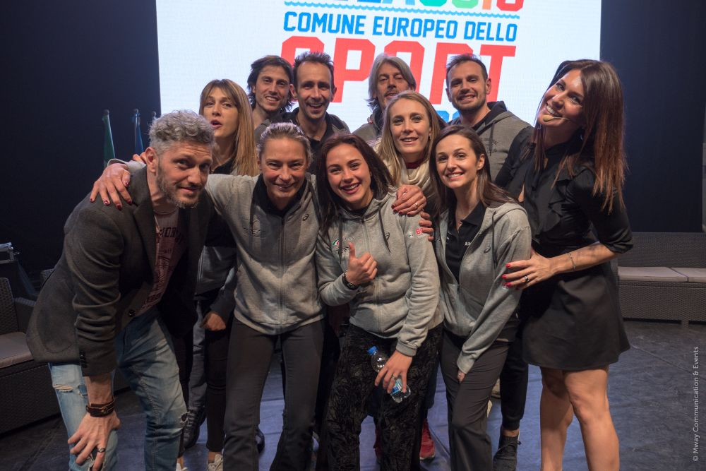 """Grande festa per la cerimonia di chiusura di """"Alassio Comune Europeo dello Sport 2017"""""""