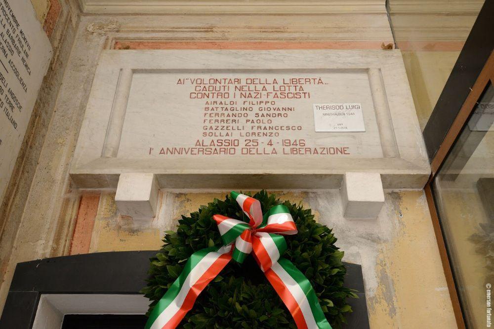 Giornata della Memoria: intitolata una targa a Luigi Therisod