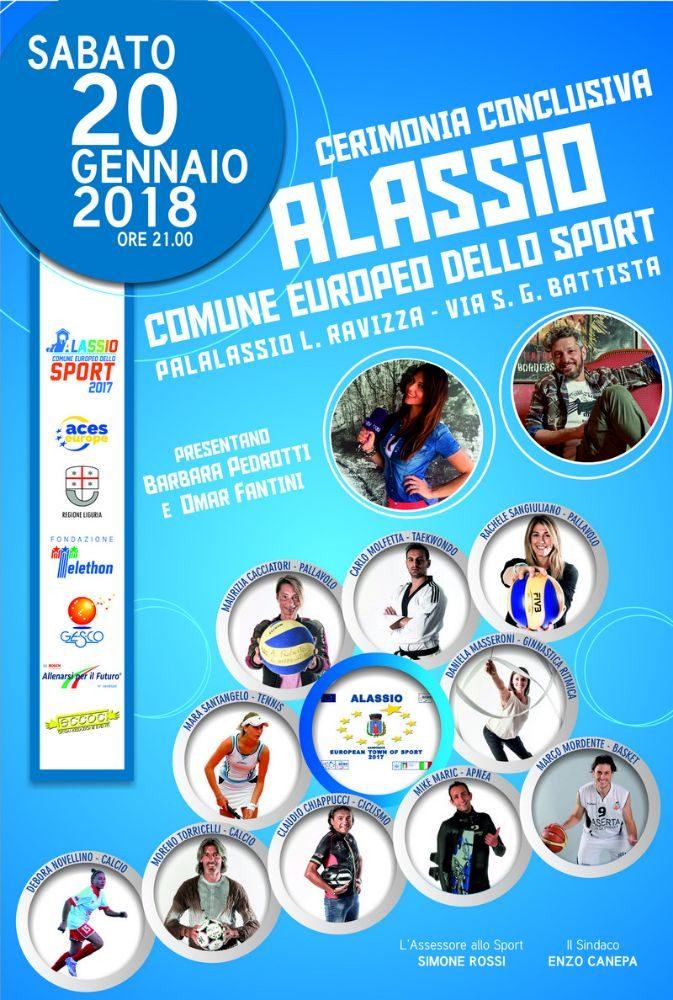 alassio città europea dello sport 2017