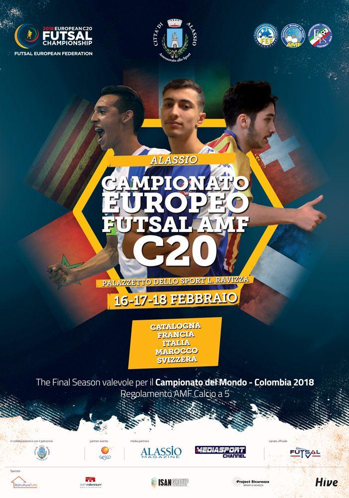 Ad Alassio il Campionato Europeo C20 Football Sala