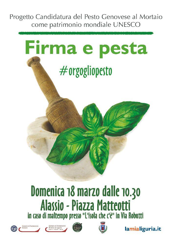 """Alassio protagonista per """"Firma e pesta!"""": appuntamento domenica 18 marzo in piazza Matteotti"""
