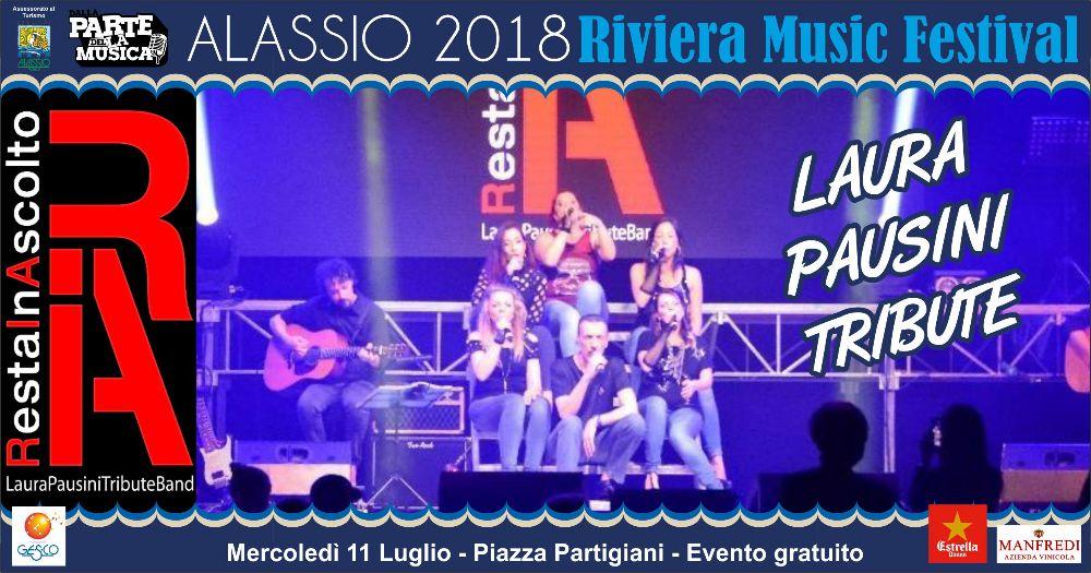 La prima e più famosa tribute band a Laura Pausini al Riviera Music Festival 2018